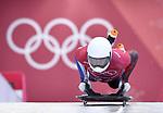 Alexander Henning Hanssen _NOR). Skeleton training. Alpensia sliding centrePyeongchang2018 winter Olympics. Alpensia. Republic of Korea. 13/02/2018. ~ MANDATORY CREDIT Garry Bowden/SIPPA - NO UNAUTHORISED USE - +44 7837 394578