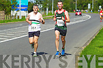 Francis Maunsell and Edward Casey pictured at the Rose of Tralee International 10k Race in Tralee on Sunday.