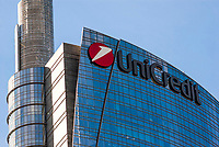 Milano, Torre Pelli, sede di Unicredit --- Milan, Pelli Tower, headquarter of Unicredit
