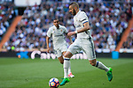 Karim Benzema of Real Madrid during the match of  La Liga between Real Madrid and Deportivo Alaves at Bernabeu Stadium Stadium  in Madrid, Spain. April 02, 2017. (ALTERPHOTOS / Rodrigo Jimenez)