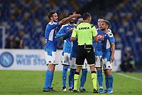 Napoli remonstrate players<br /> Napoli 30-10-2019 Stadio San Paolo <br /> Football Serie A 2019/2020 <br /> SSC Napoli - Atalanta BC<br /> Photo Cesare Purini / Insidefoto