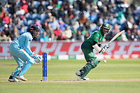 Shakib Al Hasan (Bangladesh) turns to leg for an easy single during England vs Bangladesh, ICC World Cup Cricket at Sophia Gardens Cardiff on 8th June 2019