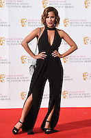 Caroline Flack<br /> at the 2016 BAFTA TV Awards, Royal Festival Hall, London<br /> <br /> <br /> &copy;Ash Knotek  D3115 8/05/2016