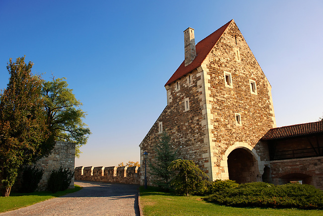 Buda Castle walls & fortifications, Budapest, Hungary