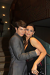 """One Life To Live's Andrew Trischitta """"Jack Manning"""" poses with  Jenni Farley - """"JWOWW at New York Premiere Event for beloved series """"One Life To Live"""" on April 23, 2013 at NYU Skirball, New York City, New York - as The Online Network (TOLN) - OLTL - AMC begin airing on April 29, 2013 on Hulu and Hulu Plus.  (Photo by Sue Coflin/Max Photos)"""