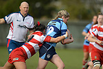 NELSON, NEW ZEALAND - JULY 18: TRU Woman's Rugby, WOB's v Central, Jubilee Park, Richmond, Nelson, 18th July, New Zealand. (Photos by Barry Whitnall/Shuttersport Limited)