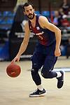XXXVIII Lliga Nacional Catalana ACB 2017.<br /> FC Barcelona Lassa vs BC Morabanc Andorra: 89-70.<br /> Pau Ribas.