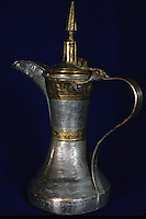 Oman, Middle East.  Omani Coffee Pot.
