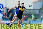 Daithi Casey Dr Crokes in action against Con Barrett  Kerins O'Rahillys in the Kerry Senior Football County Championship Semi Final between Dr Crokes and Kerins O'Rahillys at Austin Stack Park on Sunday.