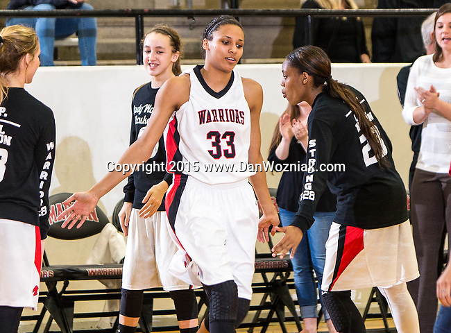 Girls Varsity Basketball - Martin vs. Bowie