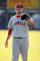 September 9 2008:  Pitcher Stephen Fife of the Lowell Spinners, Class-A affiliate of the Boston Red Sox, during a game at Dwyer Stadium in Batavia, NY.  Photo by:  Mike Janes/Four Seam Images