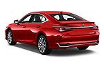 Car pictures of rear three quarter view of a 2020 Lexus ES 300h 4 Door Sedan angular rear