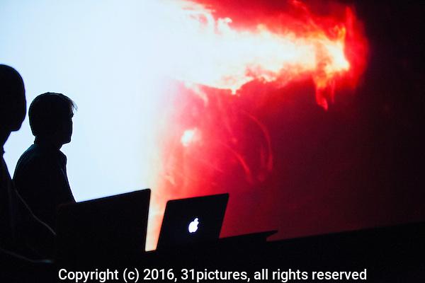 Nederland, Utrecht, 23 september 2016. Het Nederlands Film Festival 2016. Programma onderdeel Seminar Visual Effects, in de Nationale Filmconferentie. Foto: 31pictures.nl / (c) 2016, www.31pictures.nl