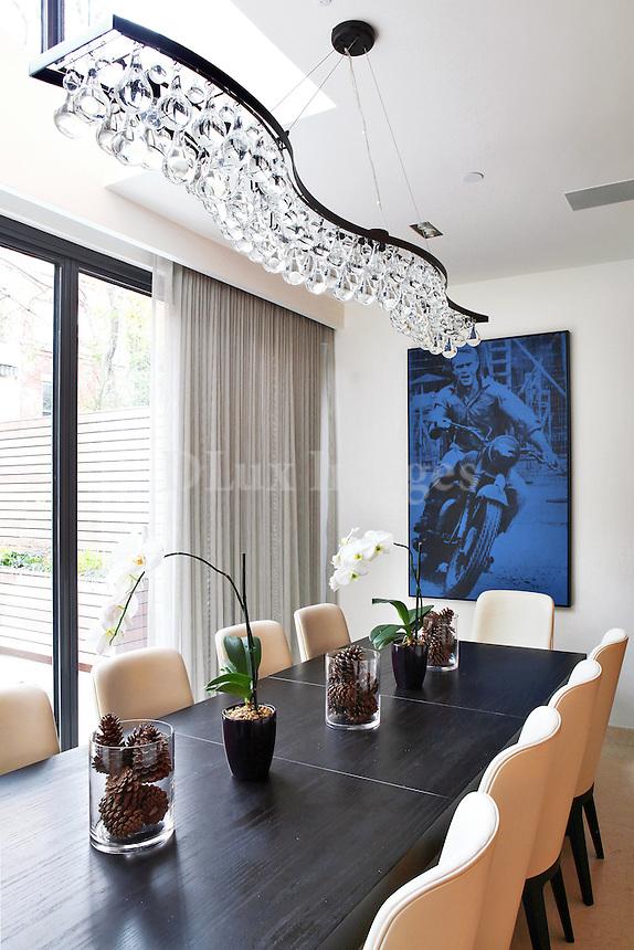 contemoprary dining room