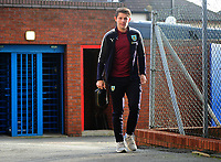 Burnley's James Tarkowski arrives at Selhurst Park<br /> <br /> Photographer Ashley Crowden/CameraSport<br /> <br /> The Premier League - Crystal Palace v Burnley - Saturday 13th January 2018 - Selhurst Park - London<br /> <br /> World Copyright &copy; 2018 CameraSport. All rights reserved. 43 Linden Ave. Countesthorpe. Leicester. England. LE8 5PG - Tel: +44 (0) 116 277 4147 - admin@camerasport.com - www.camerasport.com