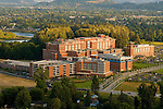 Aerial View of Peacehealth Sacred Heart Medical Center, Springfield, Oregon