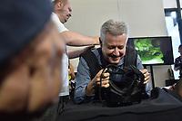 BRASÍLIA, DF, 14.06.2017 - CAMPUS PARTY-DF - O governador do Distrito Federal, Rodrigo Rollemberg durante abertra do Campus Party Brasília, evento sobre inovação tecnológica, internet e entretenimento eletrônico, que acontece no Centro de Convenções Ulisses Guimarães.(Foto: Ricardo Botelho/Brazil Photo Press)