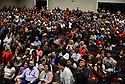 MIAMI, FLORIDA - JANUARY 03: General view inside the church during U.S. President Donald Trump speaking at a 'Evangelicals for Trump' campaign event held at the King Jesus International Ministry on January 03, 2020 in Miami, Florida. The rally was announced after a December editorial published in 'Christianity Today' called for  President Trump's removal from office. And, the rally come a day after the U.S. announced that it killed Iran's top military leader Gen. Qasem Soleimani in a surprise airstrike in Baghdad.   ( Photo by Johnny Louis / jlnphotography.com )