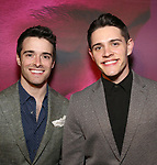 "Corey Cott and Casey Cott attends the Broadway Opening Night Performance for ""Children of a Lesser God"" at Studio 54 Theatre on April 11, 2018 in New York City."