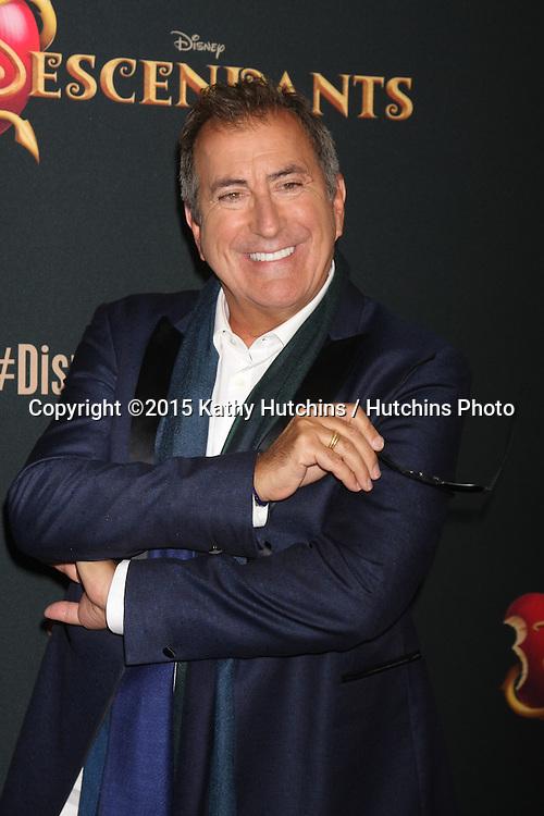 "LOS ANGELES - JUL 24:  Kenny Ortega at the ""Descendants"" Premiere Screening at the Walt Disney Studios on July 24, 2015 in Burbank, CA"