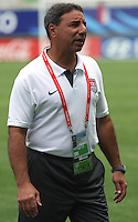 Chile, Temuco: Usa´s coach Tony Dicicco, during the final match on the group, Fifa U-20 Womens World Cup the at German Becker stadium in Temuco , on November 26 2008. Photo by Grosnia/ISIphotos.com