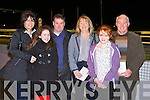 TRACK TIME: Having a great time the Down Syndrome Ireland Night at the Dogs at the Kingdom Greyhound Stadium on Saturday l-r: Anne, Roisin and Brian Teague and Helena, Annie and Gordie O'Carroll, Ballyduff and Causeway.