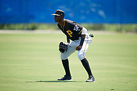 Pittsburgh Pirates right fielder Juan Pie (88) warms up in the outfield before a Florida Instructional League game against the Toronto Blue Jays on September 20, 2018 at the Englebert Complex in Dunedin, Florida.  (Mike Janes/Four Seam Images)