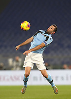 Football, Serie A: S.S. Lazio - Napoli, Olympic stadium, Rome, January 11, 2020.<br /> Lazio's captain Senad Lulic in action during the Italian Serie A football match between S.S. Lazio and Napoli at Rome's Olympic stadium, Rome , on January 11, 2020.<br /> UPDATE IMAGES PRESS/Isabella Bonotto