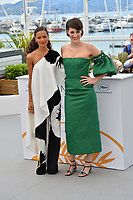 """Thandie Newton & Phoebe Waller-Bridge at the photocall for """"Solo: A Star Wars Story"""" at the 71st Festival de Cannes, Cannes, France 15 May 2018<br /> Picture: Paul Smith/Featureflash/SilverHub 0208 004 5359 sales@silverhubmedia.com"""