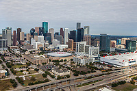 Aerial photo of Houston on Dec. 9, 2016.