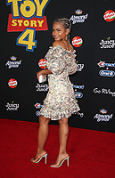 "HOLLYWOOD, CA - JUNE 11: Christina Milian, at The Premiere Of Disney And Pixar's ""Toy Story 4"" at El Capitan theatre in Hollywood, California on June 11, 2019. <br /> CAP/MPIFS<br /> ©MPIFS/Capital Pictures"