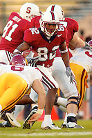 Grant Mason during Stanford's 49-17 loss to USC on November 9, 2002 at Stanford Stadium.<br />