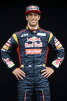 TORO ROSSO AUSTRALIAN DRIVER, DANIEL RICCIARDO. .Melbourne 16/03/2013 .Formula 1 Gp Australia.Foto Insidefoto.ITALY ONLY .Posato Ritratto Pilota