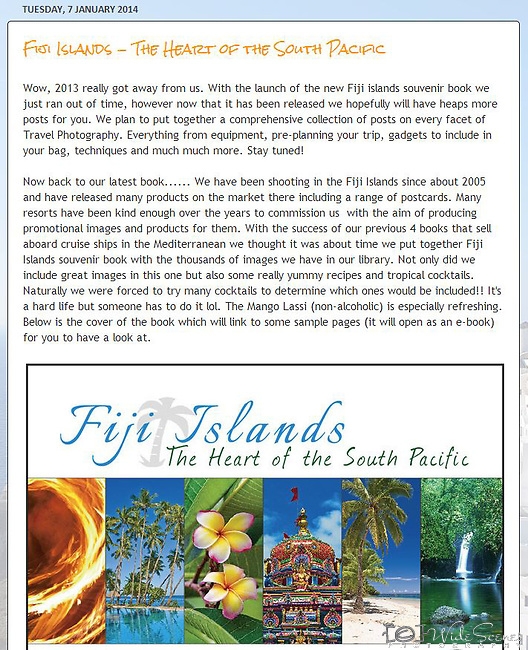 Blog post - release of our 5th souvenir book to read: <br />