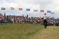 Zach Johnson (USA) walks to the 1st tee to start his match during Sunday's Final Round of the 117th U.S. Open Championship 2017 held at Erin Hills, Erin, Wisconsin, USA. 18th June 2017.<br /> Picture: Eoin Clarke | Golffile<br /> <br /> <br /> All photos usage must carry mandatory copyright credit (&copy; Golffile | Eoin Clarke)