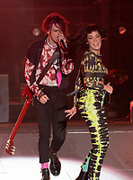 CARSON, CALIFORNIA - JUNE 01: Halsey and YoungBlood perform onstage at 2019 iHeartRadio Wango Tango at Dignity Health Sports Park on June 01, 2019 in Carson, California.    /MediaPunch<br /> CAP/MPI/IS<br /> ©IS/MPI/Capital Pictures