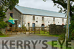 Scene of the tragic farm accident in Abbeydorney on Tuesday morning.