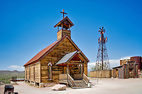 New Testament Christian Church. Goldfield ghost town, Arizona.