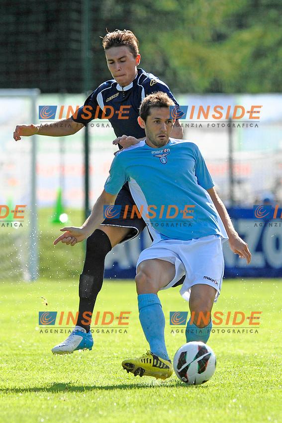 Senad Lulic Lazio.Auronzo di Cadore 21/7/2012.Football Calcio 2012 / 2013 .Amichevole Friendly Match.SS Lazio Vs AC Montebelluna.Foto Insidefoto.