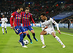 Tottenham's Dele Alli goes past CSKA Moscow's Aleksandr Golovin during the Champions League group match at Wembley Stadium, London. Picture date December 7th, 2016 Pic David Klein/Sportimage