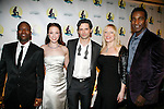 Tituss Burgess, Sierra Boggess, Sean Palmer, Sherie Rene Scott &amp; Norm Lewis<br /> attending the Roseland after party for the Opening Night Performance of &quot;The Little Mermaid&quot; at the Lunt-Fontaine Theatre in New York City.<br /> January 10, 2008