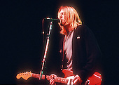 Nirvana ; Kurt Cobain ; New York Coliseum In New York City ; <br /> On 11/14/1993 ;<br /> Photo Credit: Eddie Malluk/Atlas Icons.com
