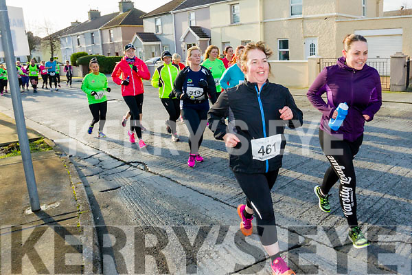 Maureen Spillane, pictured taking part in the Kerry's Eye Valentines Weekend 10 mile road race on Sunday.