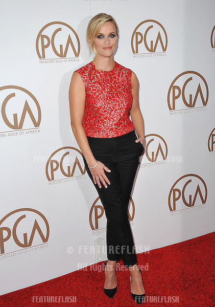 Reese Witherspoon at the 26th Annual Producers Guild Awards at the Hyatt Regency Century Plaza Hotel.<br /> January 24, 2015  Los Angeles, CA<br /> Picture: Paul Smith / Featureflash