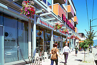 Vancouver, BC, British Columbia, Canada - Main Street Scene, Shops in Riley Park - Little Mountain Neighbourhood