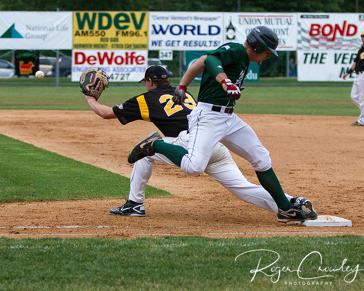For the second straight night, two homeruns weren't enough for Vermont as they fell to North Adams, 7-3, in New England Collegiate Baseball League (NECBL) action on Wednesday night.