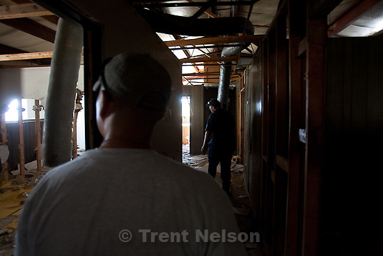 Trent Nelson  |  The Salt Lake Tribune.Investigators from the West Valley City police department search an abandoned warehouse in the Ward Mining District south of Ely, Nevada, on Friday August 19, 2011 as part of the investigation into the 2009 disappearance of Susan Powell,