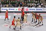 Tip-off, MAY 22nd, 2011 - Basketball : bj-league 2010-2011 Season Playoff Final4, Final Match between Hamamatsu Higashimikawa Phoenix 82-68 Ryukyu Golden Kings at Ariake Coliseum, Tokyo, Japan. (Photo by Yusuke Nakanishi/AFLO SPORT/bj-league) [1090]