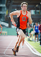 Mar 3, 2015; Claremont, CA, USA; Occidental College track at the Rossi Relays at Claremont Mudd Scripps.