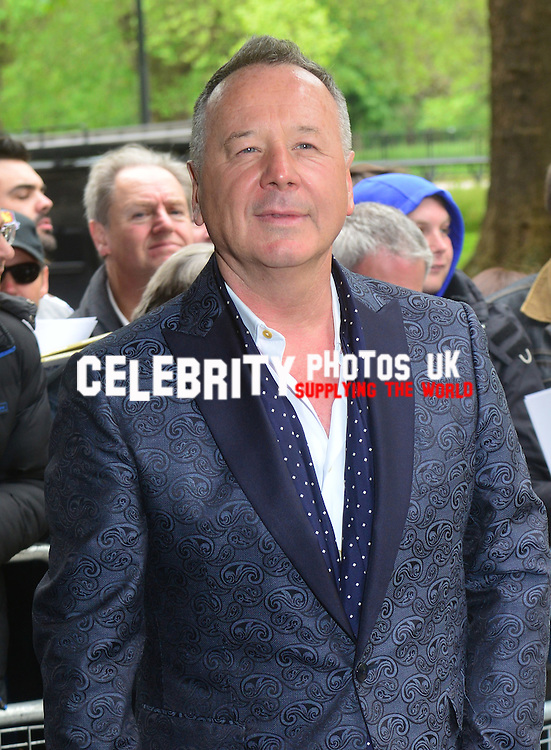 Jim Kerr  at the Ivor Novello Awards at the Grosvenor House Hotel, Park Lane, London on May 19th 2016